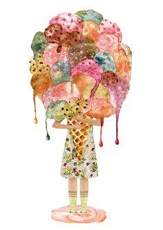 Mariana - Illustration http://mariana.io/projects/foodies