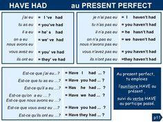French Verbs, French Grammar, English Grammar, English Language, French Language Lessons, French Language Learning, English Lessons, Learn French Beginner, French Friend