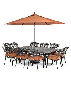 Chateau Outdoor Patio Furniture Dining Sets U0026 Pieces   Patio U0026 Outdoor  Dining   Furniture