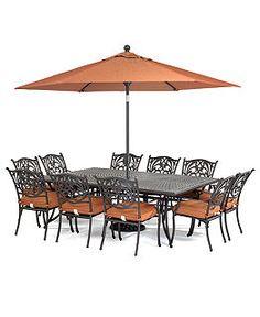 Amazing Villa Outdoor Patio Furniture Dining Sets U0026 Pieces   Outdoor Dining    Furniture   Macyu0027s | Backyard | Pinterest