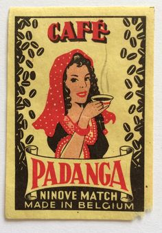 Vintage Matchbox from Belgium