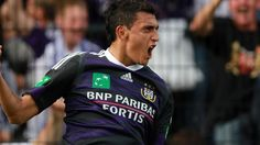Belgium's player of the moment, Anderlecht striker Matías Suárez