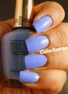 MILANI Spring 2014 collection : Swatches and Review (PART II) Power Periwinkle