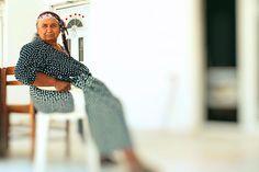 Roma woman in Aliveri, Volos