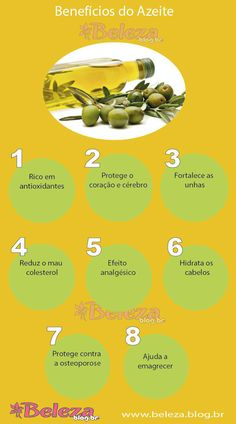 Benefícios do azeite de oliva Healthy Nutrition, Healthy Habits, Healthy Tips, Healthy Recipes, Fitness Diet, Health Fitness, What Is Health, Gourmet Salt, Natural Lifestyle