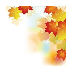 Autumn Beautiful leaves theme background vector 02 - Vector Background... ❤ liked on Polyvore featuring autumn, backgrounds, halloween and text