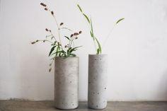 DIY tube vase
