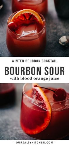 kokteyl tarifleri A blood orange cocktail is the perfect celebration of winter's best cocktail flavors. Embrace the sharp, sour notes of fresh blood oranges paired with smokey, sweet bourbon with this blood orange bourbon sour. Blood Orange Cocktail, Blood Orange Juice, Sour Cocktail, Signature Cocktail, Cocktail Drinks, Cocktail Recipes, Alcoholic Drinks, Beverages, Drink Recipes