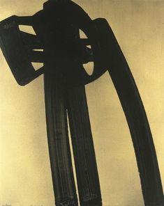 Pierre Soulages, Peinture 162 x 130 cm, 30 Juin 1971