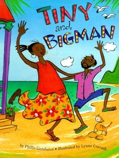 Tiny and Bigman by Phillis Gershator, illustrated by Lynne Cravath Girls Bookshelf, Bookcase, 1000 Books Before Kindergarten, Books By Black Authors, African American Authors, Black History Books, Reading Projects, Kids Study, Mentor Texts