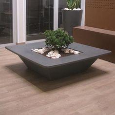 """Slide Design Polyethylene Pot Planter Size: 15.7"""", Color: Grey"""