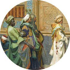 Ludwig Deutsch - The Offering (detail) 1880