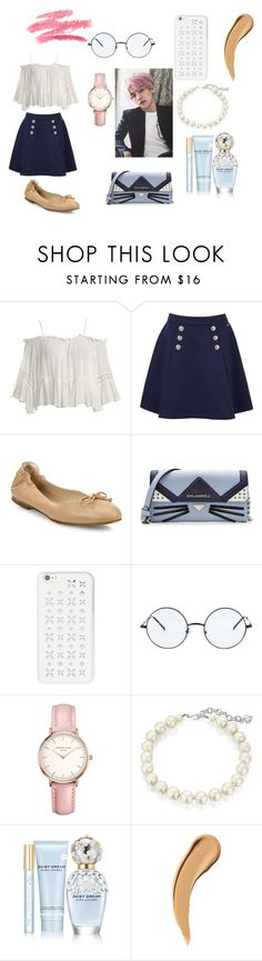 """""""a date with exo's baekhyun"""" by yeollie-with-a-y ❤ liked on Polyvore featuring beauty, Sans Souci, Tommy Hilfiger, L.K.Bennett, Karl Lagerfeld, MICHAEL Michael Kors, Topshop, Carolee and Marc Jacobs"""