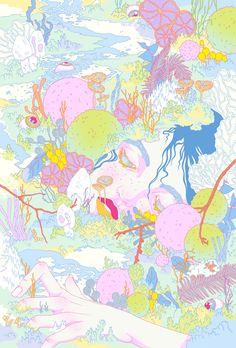 Illustrator Spotlight: Milena Huhta - BOOOOOOOM! - CREATE * INSPIRE * COMMUNITY * ART * DESIGN * MUSIC * FILM * PHOTO * PROJECTS
