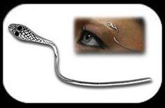 unique eyebrow rings | Eyebrow Bar 1.2mm - Snake Head