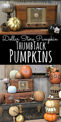 Dollar Store crafts are all the rage! This Dollar Store Pumpkin is perfect for…