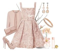 Lovely Spring by armband on Polyvore featuring polyvore, fashion, style, Elie Saab, Vero Moda, Salvatore Ferragamo, Michael Kors, Jordan Alexander, Marc Jacobs, Sia and clothing