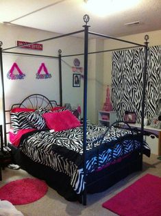 Girly Room Decorations For Girls Site:pinterest.com | Little Girls Zebra  Room |