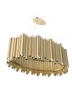 Brubeck Suspension Hanging Lamp   DelightFULL