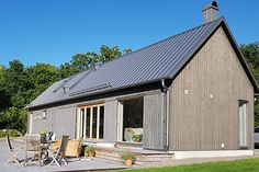 Barn houses - architect-designed villas from Arvesund Living Cabin Design, House Design, Architect House, New Home Designs, Building Materials, Home Fashion, Building A House, Shed, New Homes