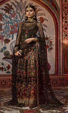 Nomi Ansari's Latest Bridal Dresses Are What You Expected & More! Asian Wedding Dress, Pakistani Wedding Outfits, Asian Bridal, Pakistani Wedding Dresses, Indian Dresses, Asian Bridesmaid Dresses, Latest Bridal Dresses, Wedding Dresses For Girls, Bridal Gowns