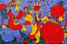 'Ubu roi', öl von Joan Miro (1893-1983, Spain)