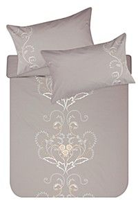 100% COTTON CLASSIC EMBROIDERED DUVET COVER SET