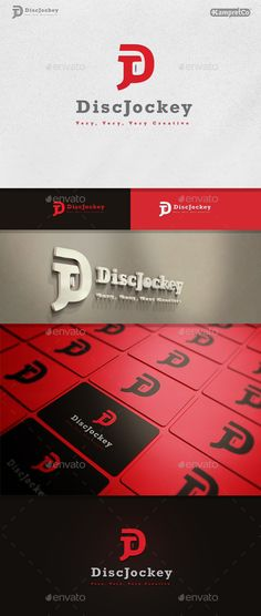Disc Jockey Logo by KampretCo Files Includes : Easy to Edit . 100% Vector. Files Ai CS3. Files Eps CS Files PSD Free Font Used Link Download in Help File More B