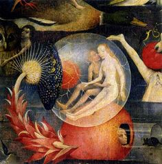 Hieronymous Bosch        detail from The Garden of Earthly Delights