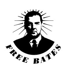 """A fantastic stencil piece here by @Belinda Marsden: """"Free Bates - Had to put it on my OFFICIAL @Downton Abbey Pinterest board."""""""
