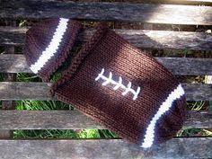 hahaha i love this! i need to find someone who knits! baby football sack
