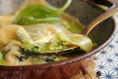 Ravioli Ricotta, Spinach and Nuts