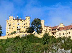 The Schloss #Hohenschwangau in Hohenschwangau, Germany.