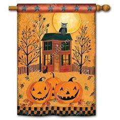 Halloween Glow Standard Flag