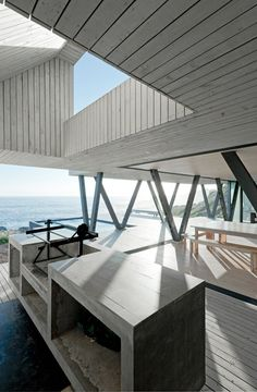 Idyllic seaside residence in Chile.