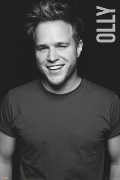 Olly Murs Black and White - Official Poster. Official Merchandise. Size: 61cm x 91.5cm. FREE SHIPPING