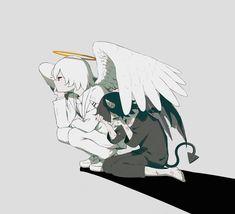 Dark Anime, Dark Art Illustrations, Illustration Art, Anime Kunst, Anime Art, Fantasy Kunst, Fantasy Art, Demon Manga, Art Sketches