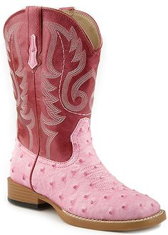 Roper 09-018-1900-0051 - Kid's 9 Inch Western Square Toe Boots Style