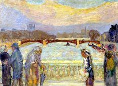 Pierre Bonnard / Pont de la Concorde, 1913/15