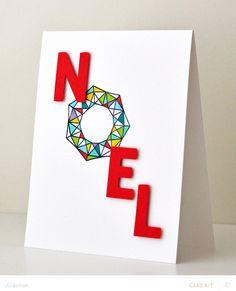 Graphic Noel by jjbolton at @studio_calico
