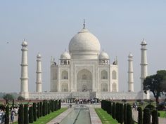 Indië | Die Taj Mahal by Agra