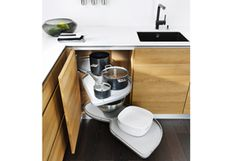 Cucina design premiata vao in pregiato legno naturale   TEAM 7