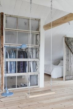 Méchant Design - great way to separate a room