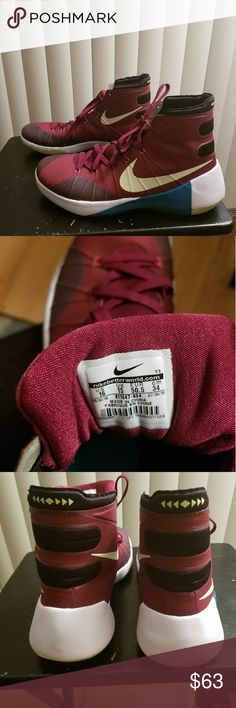 Nike Basketball Shoes Basketball Shoes worn by an overseas professional basketball player for one game. Size 16 Nike Shoes Athletic Shoes
