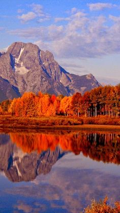 Ox Bow Bend, Snake River, Mt. Moran, Grand Teton National Park, Wyoming, United States. #nature