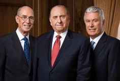 What did the First Presidency say following the election?