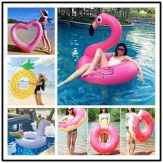 Swimming Accessories Sports & Entertainment 2017 Summer Swim Float Ring Inflatable Swimming Lounge Chair Adult Row Pool Swimming Rings Toy For Water Game B2cshop Good Taste