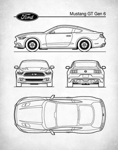 Patent Print Auto Art Ford Mustang Blueprint Car Art Muscle Car Ford Mustang Poster Sports Car Decor This patent poster is printed using quality archival inks on ultra pr. Car Design Sketch, Car Sketch, Design Cars, Design Design, Volkswagen, Bmw Autos, Mustang Cars, Ford Mustangs, Car Posters