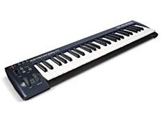 Buy M-Audio Keystation 49 II, Portable USB/MIDI Keyboard Controller with Synth-Action Velocity-Sensitive Keys and Studio Software from Sonivox (Eighty-Eight Ensemble) for Mac and PC. Free delivery and returns on eligible orders. Ableton Live, Usb, Miguel Rios, Music Software, Studio Software, Midi Keyboard, M Audio, Home Studio Music, Recorder Music