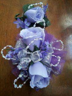 Silk prom flowers